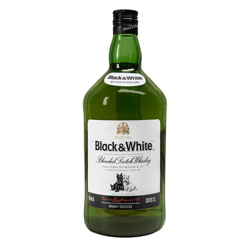 Whisky Black & White de 1.75 litros - Diageo ZK