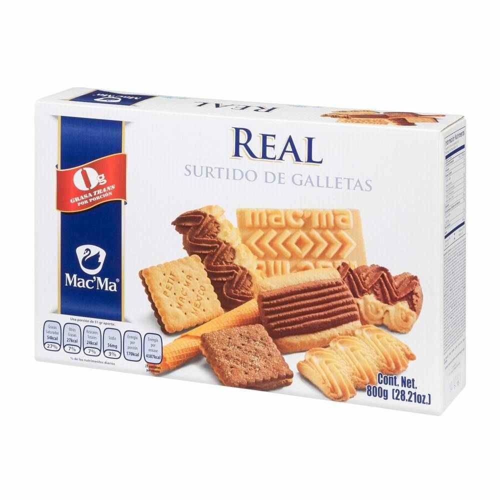 Galletas Mac'Ma St. Real Surtido 800G  - ZK