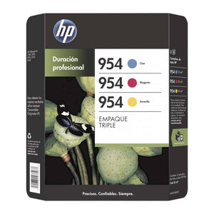 Cartuchos HP 954 Tinta a Color 3P - ZK