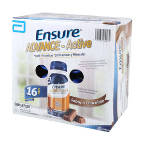 Ensure Advance Active Abbott Sabor Chocolate 16P/237M - ZK