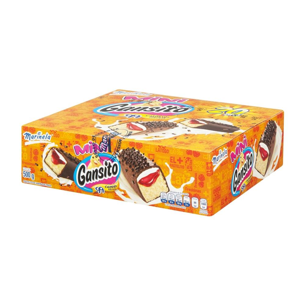 Gansito Marinela Mini 500G - ZK