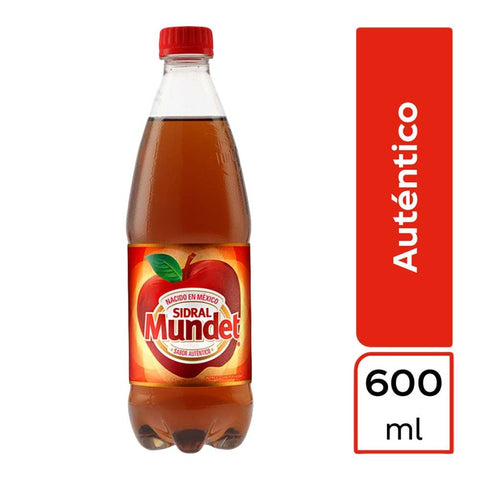 Refresco Sidral Mundet de 600 ml  - Coca Cola - MayoreoTotal-Refrescos-Coca Cola
