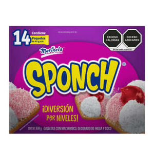 Sponch Marinela Galleta con Malvavisco 630g- ZK