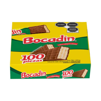 Galleta con Chocolate Bocadin 100P - ZK