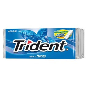 Media Caja Chicle Trident Val U Pack Menta 6C/12 P