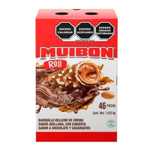 Chocolate Muibon Roll 46P - ZK