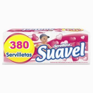 Media Caja Servilleta Suavel 380S/6P