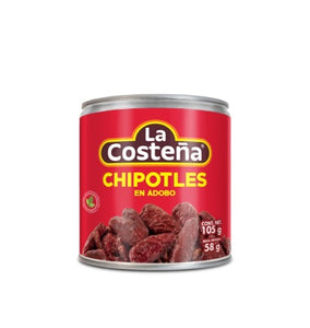 Media caja chiles chipotles La Costeña 20P/105P