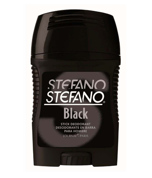 Media Caja Desodorante Stefano Stick Black 60G/6P