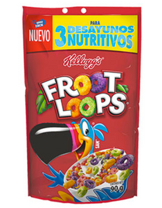 Caja cereal Froot Loops econopak  90G/14P