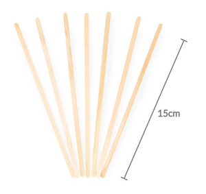 Agitador de Madera 15 cm - Desechable Biodegradable