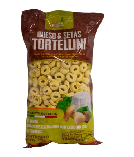Tortellini Queso/Setas Food With Purpose 907G - KOZ