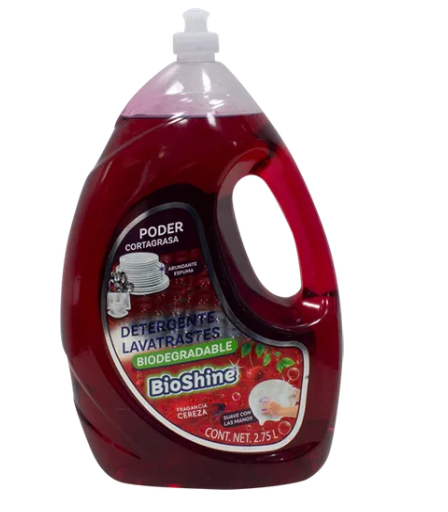 Lavatrastes L Quido Biodegradable Bioshine 2.75L - KOZ