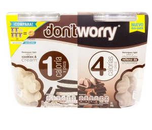 Merengue Dont Worry Sabor Fresa 136G/2P - KOZ