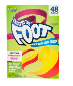 Fruit by the Foot rollo de caramelo suave con fruta 48P - KOZ