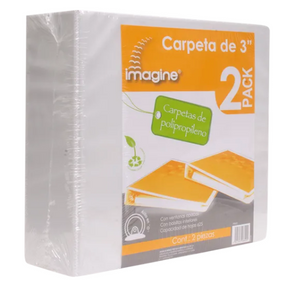 "Carpeta Blanca 3"" 2P Imagine - KOZ"