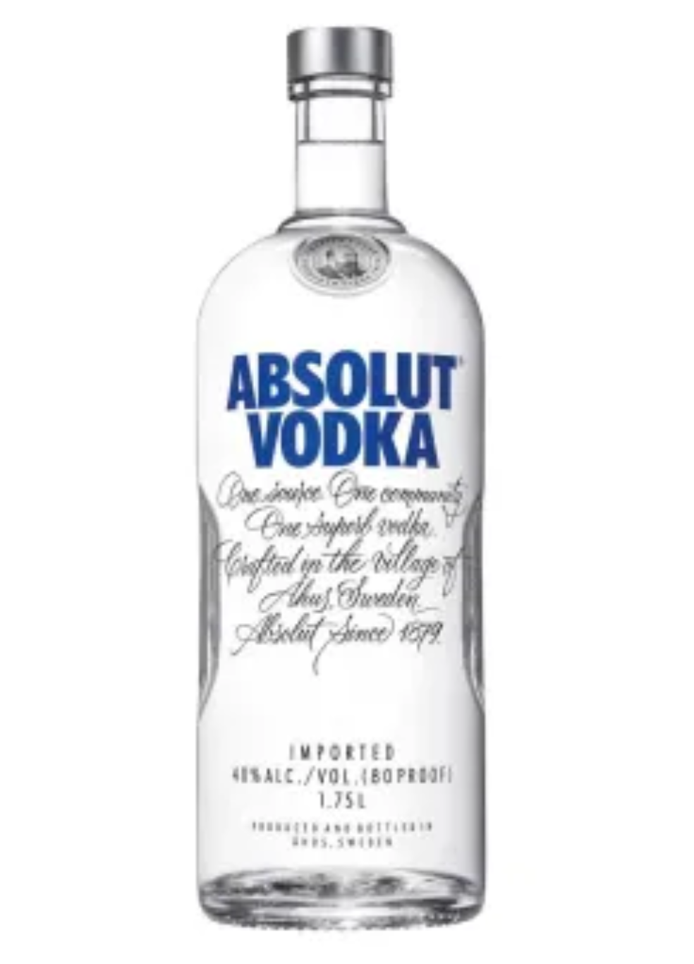 Vodka Absolut Blue 1.75L  - ZK