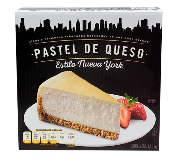 Pastel De Queso Estilo New York Rich'S Big New Yorker 1.81K - KOZ