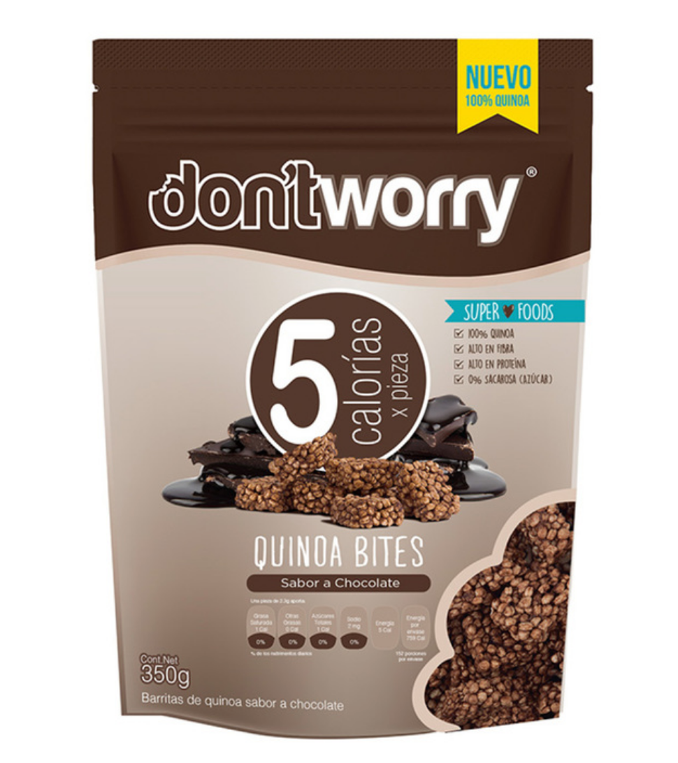 Don't Worry quinoa bites 350G - KOZ