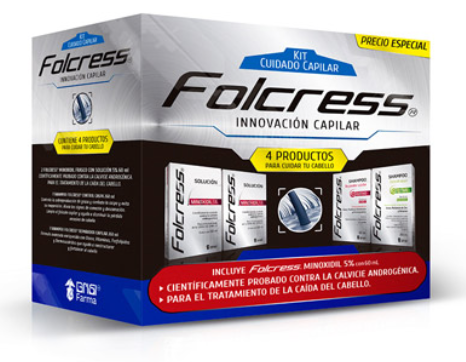 Folcress kit capilar 4 pack - Folcress KOZ