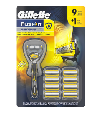 Rastrillo + cartuchos 10P Gillette proshield - KOZ