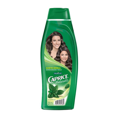 Media Caja Shampoo Caprice Aceite Herbal 760M/6P