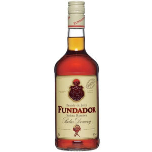 Caja Brandy Fundador con 12 botellas de 700 ml-Brandy-MayoreoTotal-MayoreoTotal