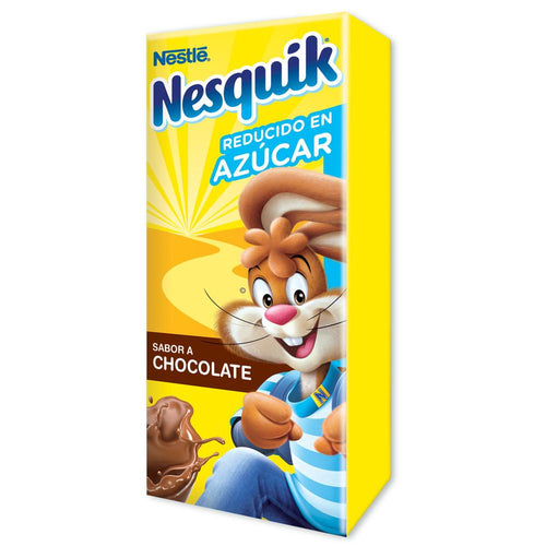 Caja Chocolate Nesquik Ready to drink de 240 ml en 27 piezas - Nestlé-Leches-Nestlé-MayoreoTotal
