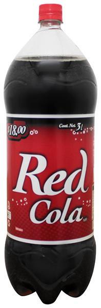 Caja Refresco Red Cola de 3 lt con 8 piezas - Red Cola-Refrescos-Red Cola-MayoreoTotal
