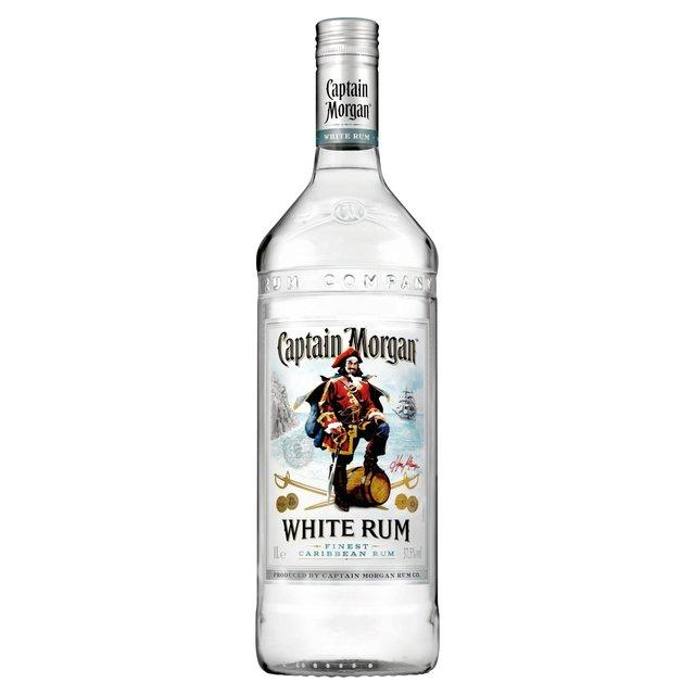 Caja Ron Captain Morgan White con 12 botellas de 750 ml-Ron-MayoreoTotal-MayoreoTotal