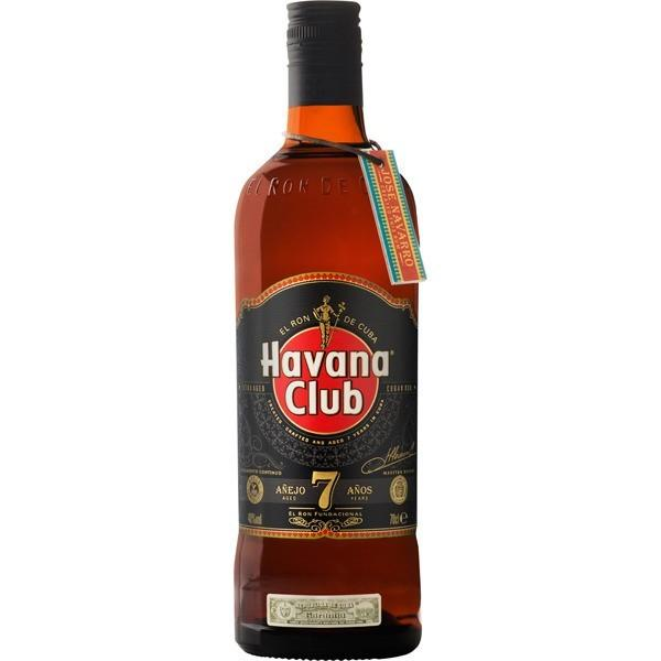 Caja Ron Havana Club 7 Años con 12 botellas de 750 ml-Ron-MayoreoTotal-MayoreoTotal