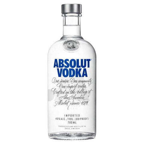 Caja Vodka Absolut Blue con 12 botellas de 750 ml-Vodka-MayoreoTotal-MayoreoTotal
