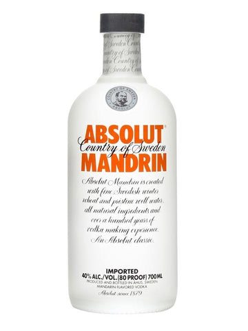 Caja Vodka Absolut Mandarina con 12 botellas de 750 ml-Vodka-MayoreoTotal-MayoreoTotal