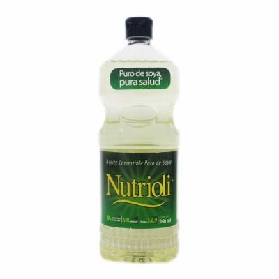 Media caja aceite Nutrioli de 6 botellas en 850 ml - Ragasa-Aceites-Ragasa-MayoreoTotal