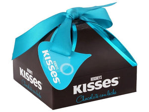 Media Caja Chocolate Hersheys Kisses Caja Regalo en 3 paquetes de 80gr - Hersheys-Chocolates-Hersheys-MayoreoTotal