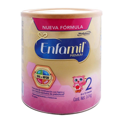 Media Caja fórmula láctea label Enfamil Premium2 de 250 grs en 6 latas - Mead Johnson-Formula Lactea-Mead Johnson-MayoreoTotal