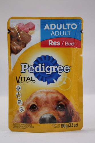 Media Caja Pedigree Adulto Res de 100 grs con 20 pouches - Effem-Mascotas-Effem-0706460249279-MayoreoTotal