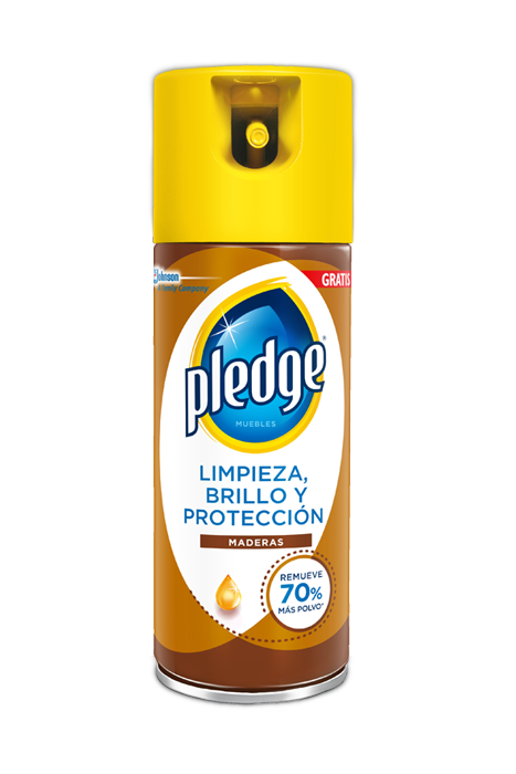 Media Caja Pledge Aerosol Mini Maderas de 260 ml con 6 Piezas - SC Johnson-Limpiador-SC Johnson-MayoreoTotal