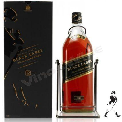 Whisky Jhonnie Walker Black de 3 piezas de 3 litros-Whisky-MayoreoTotal-MayoreoTotal