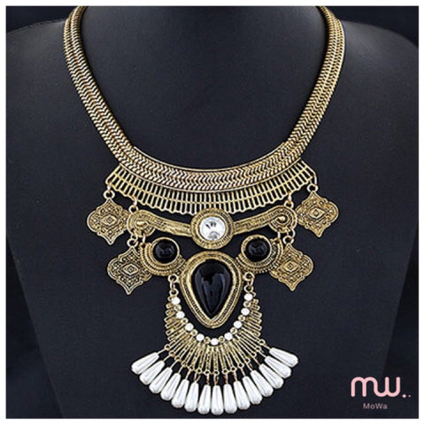 Collar boho pechero