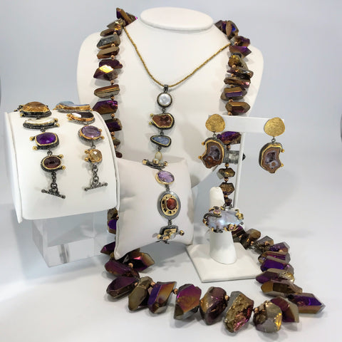 Exotic Purple Jewelry Collection