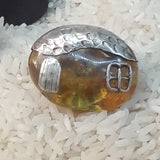 Key West Conch House Amber Ring - Adjustable