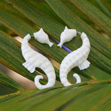 Key West Seahorse Earrings - Key West Jewelry Bar at Local Luxe  - 1