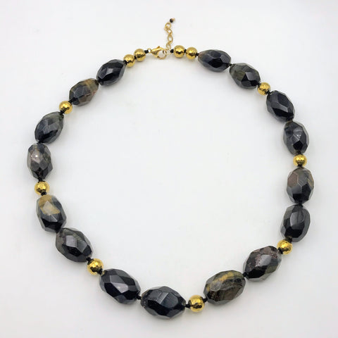 Tiger's Eye Necklace - 22 inch