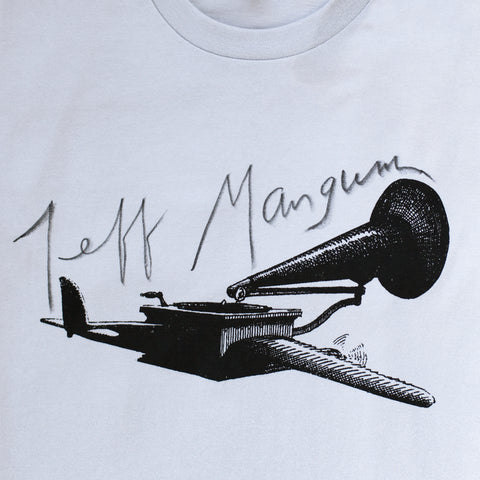 Signed Flying Gramophone Shirt in permanent ink.... to support family, friends and various projects