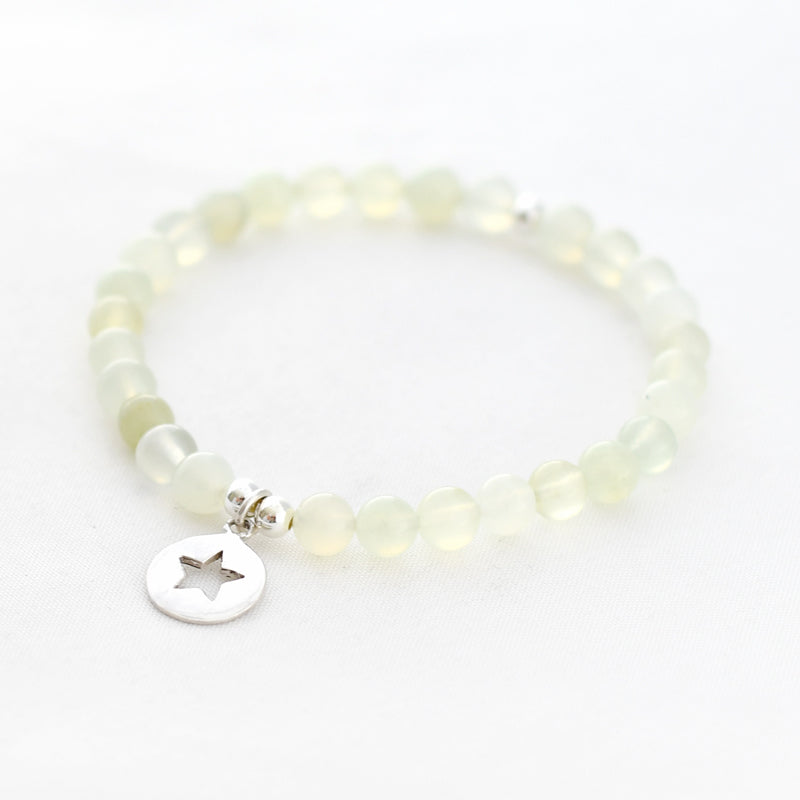Armband new jade 6 mm