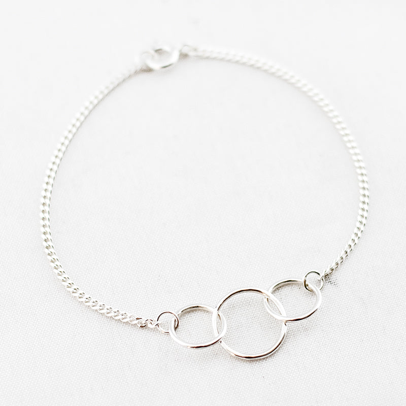 Armband drie cirkels