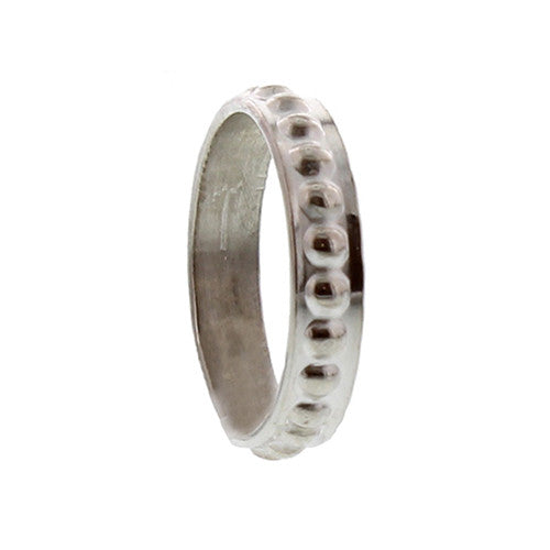 Ring stip breed - Ringen - Zilver & Zoet