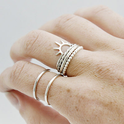 Ring sunrise