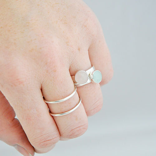 Ring Aquamarijn Basic